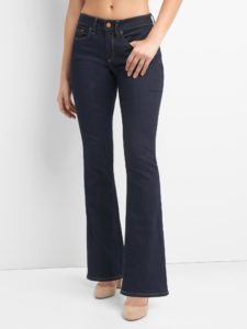 Bootcut curvy fit jeans