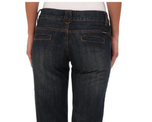 jeans with slit back pockets