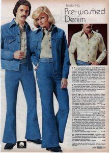 1970s bell bottom jeans