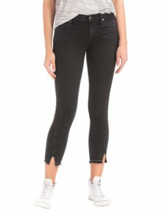 GAP Mid Rise Twist Seam True Skinny Ankle Jeans