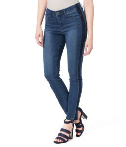 Two Tone Tuxedo Stripe Madison Jeans