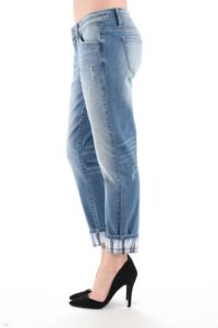 cuffed jeans with heels