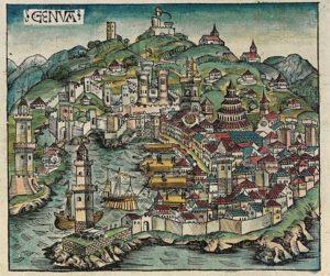 Origins: Genoa, Italy & Nimes, France