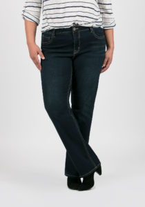 dark wash straight leg jeans