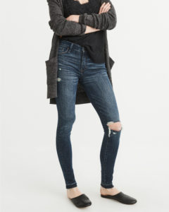 jacket that ends below the hip