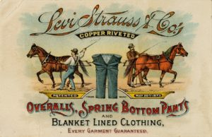 levis label jeans history