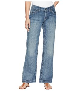 straighter cut wide leg jeans