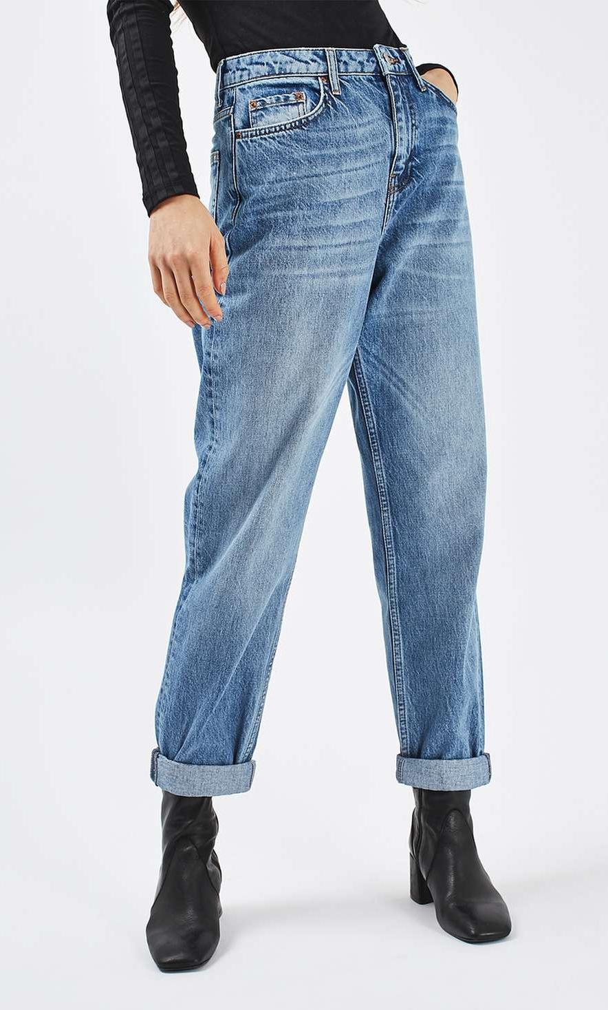 very baggy boyfriend fit jeans, what is boyfriend fit