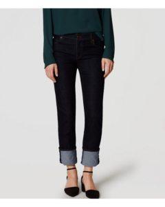 Dark Rinse, Dark Wash Skinny Jeans