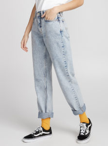 Acid Wash Mom Jeans