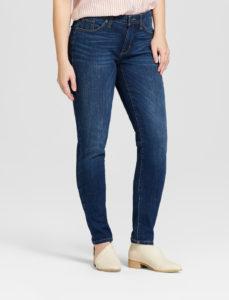 Curvy fit skinny jeans