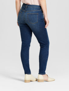 Curvy fit skinny jeans - back