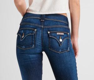 flap back pocket on jeans