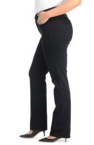 high waist, high rise boot cut jeans