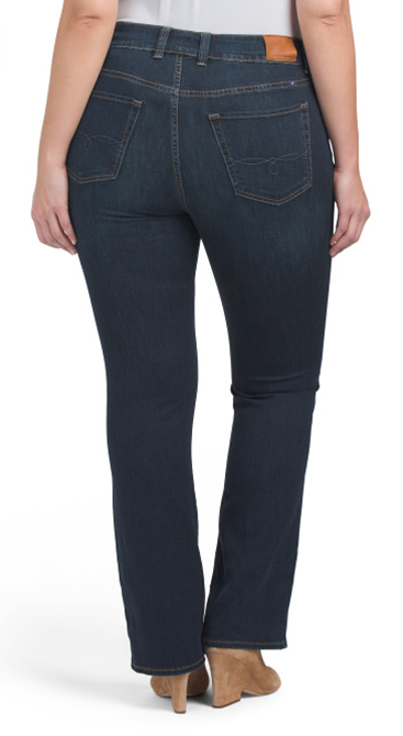 Jeans in a dark wash