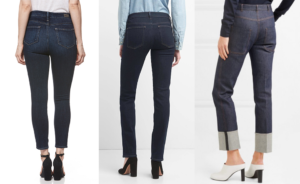 higher back pockets on jeans can give you a butt lift