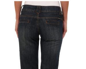 jeans with slit back pockets