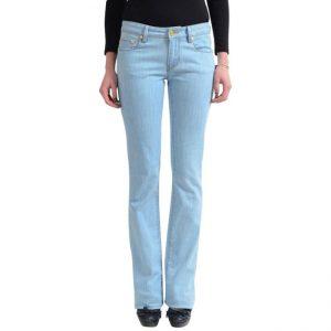 Light Wash Straight Leg Jeans