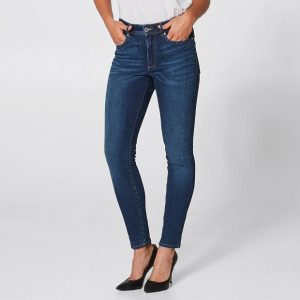 Medium/Mid Wash Skinny Jeans