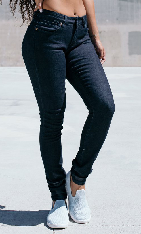 Barbell Apparel Slim Athletic Fit Jeans