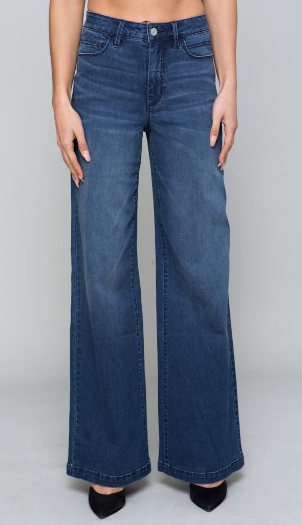 high waist wide-leg jeans, wide legged jeans, wide-leg jeans, types of jeans for women