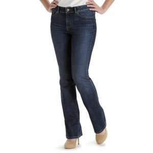 best jeans for curvy women, LEE Women's Curvy Fit Bootcut Jeans