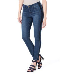 Two Tone Tuxedo Stripe Madison Jeans