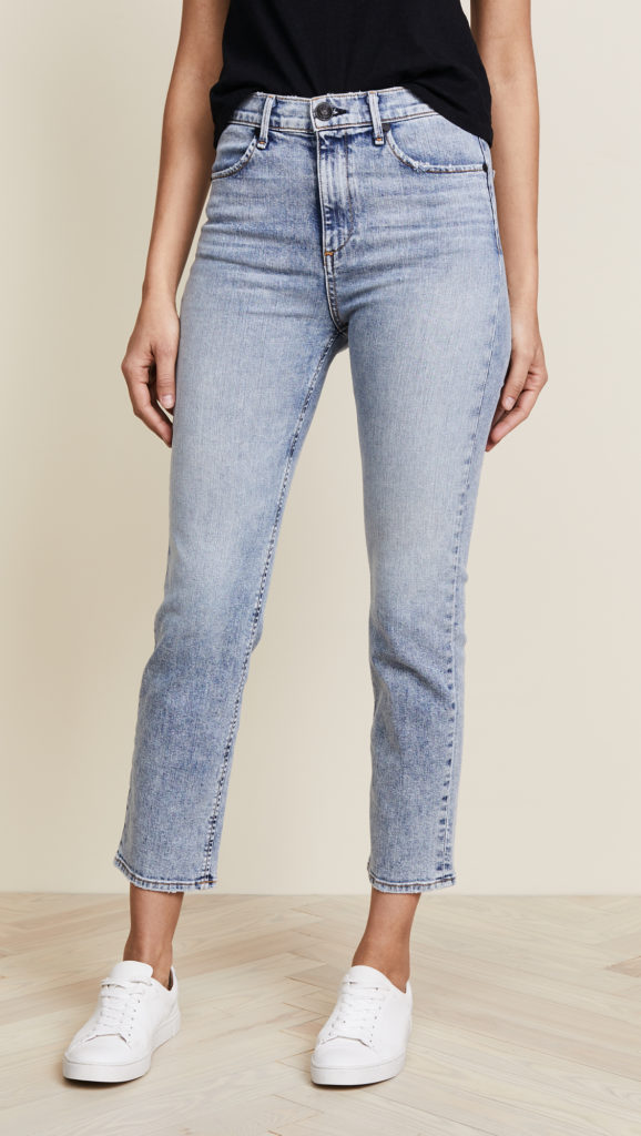 ankle length cigarette jeans