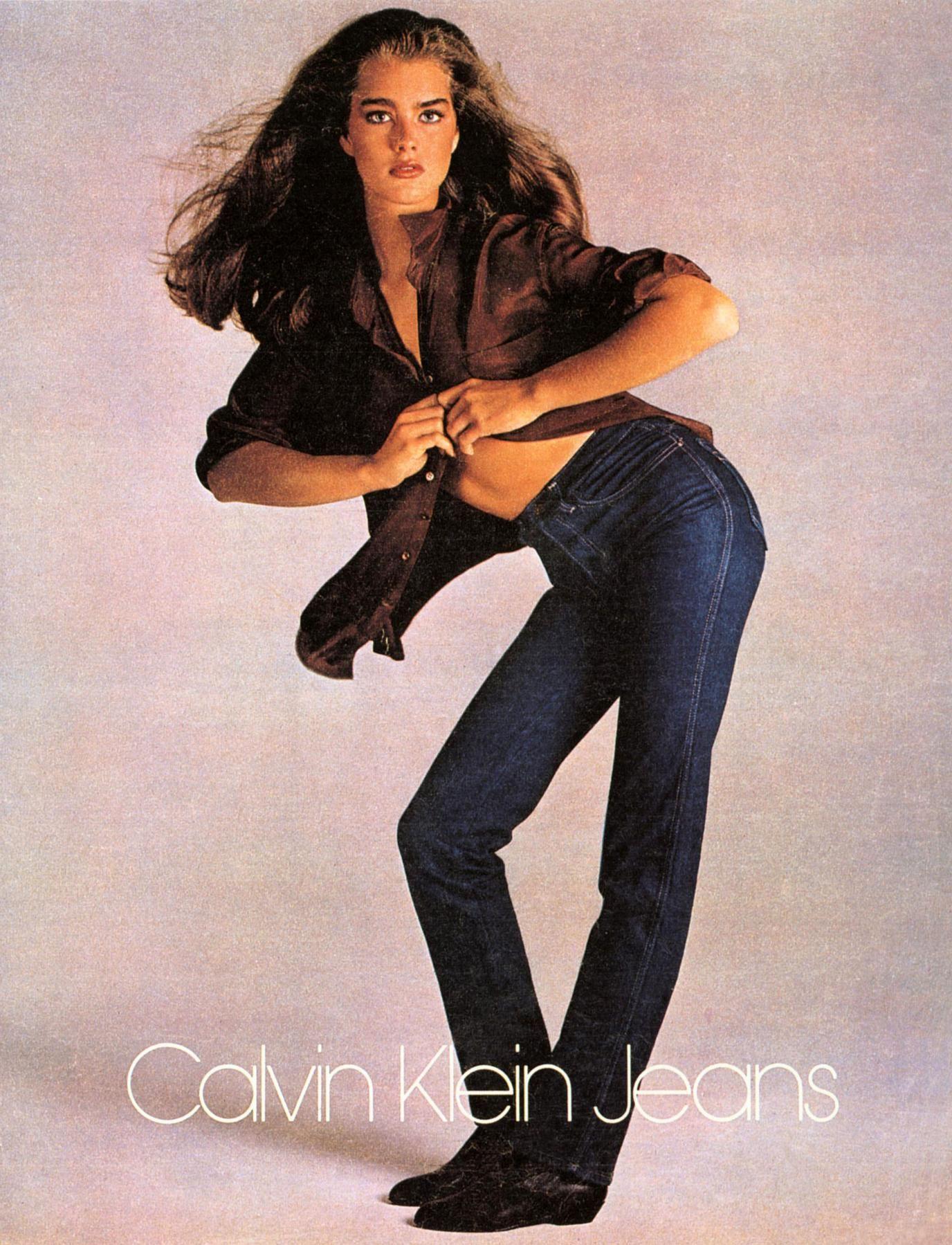 Calvin Klein jeans - 1980's fashion
