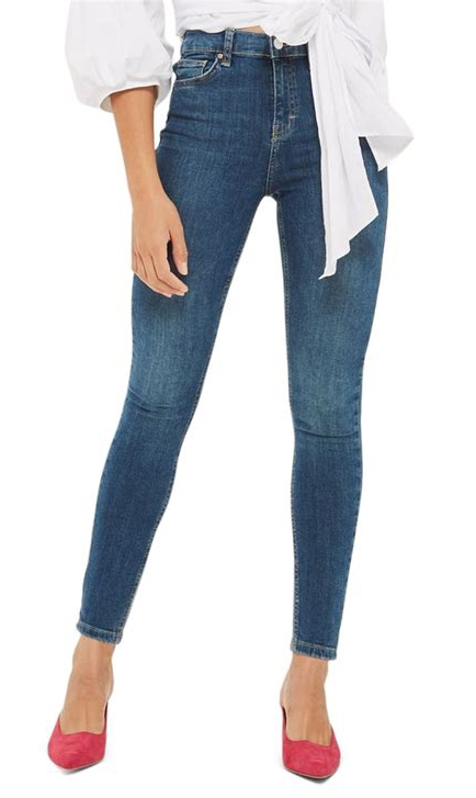 cropped ankle skinny jeans