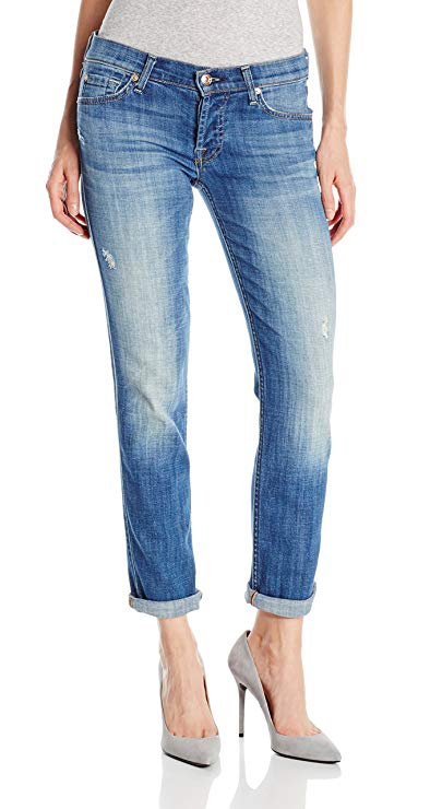 cropped jeans end at the ankle