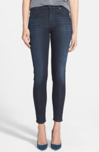 dark wash, plain jeans