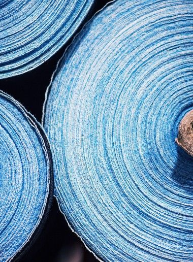 denim fabric rolls, jeans history