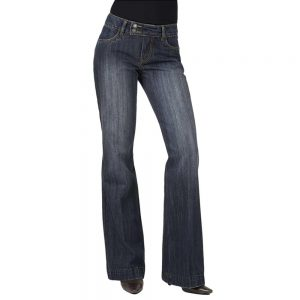 flare jeans fit for the hourglass body shape