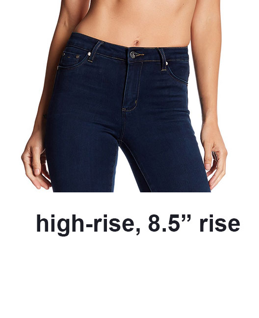 high rise jeans, Jeans rise