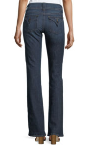 jeans with flap back pockets