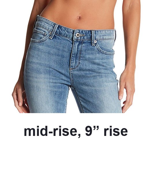 rise on jeans, mid rise jeans