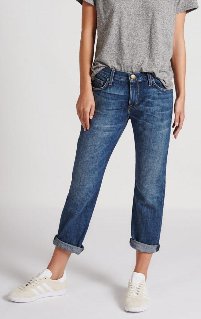 relaxed fit crop boyfriend jeans