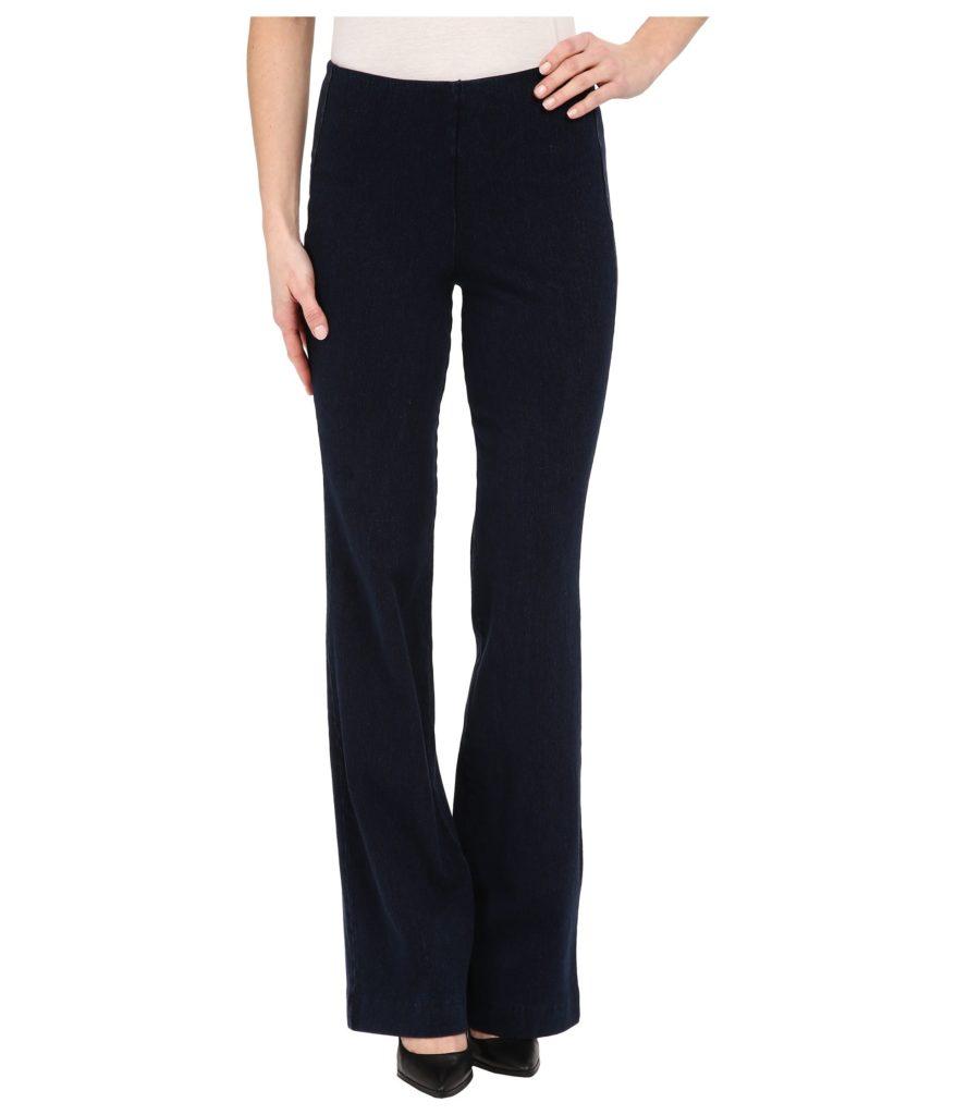 trouser jeans with slit back pockets