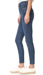 super or ultra super high rise jeans