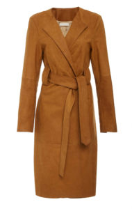 neutral color coat to wear with black jeans outfit