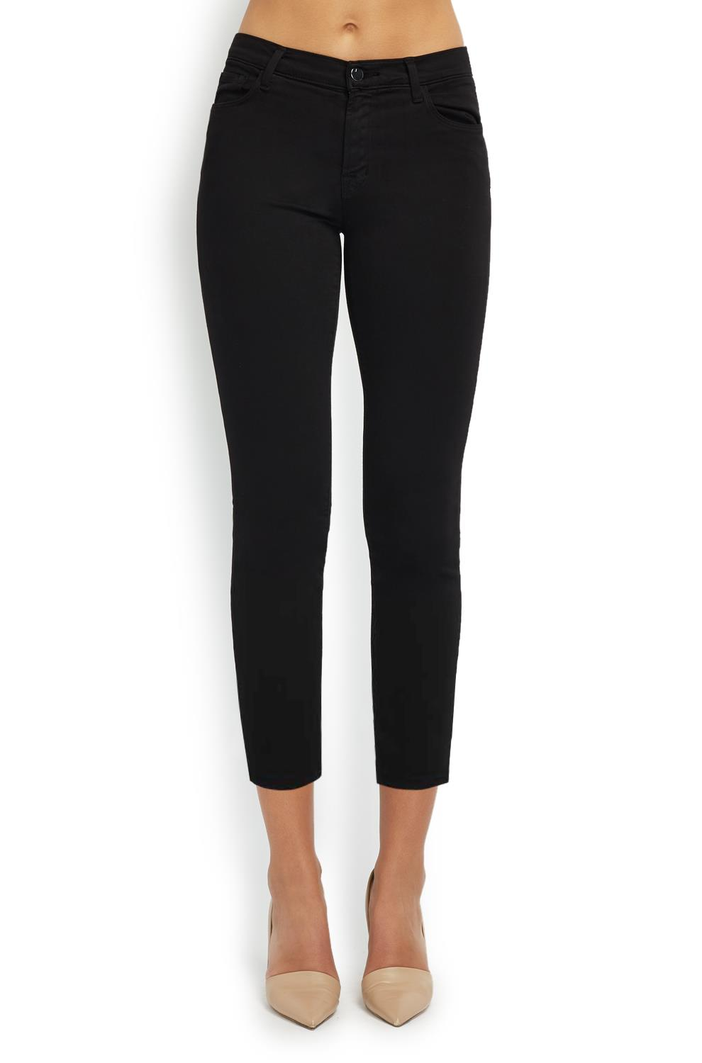 cropped black jeans outfit