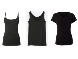 spring, summer tops to wear with black jeans