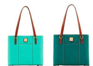 Handbags in bright colors for a black jeans outfit