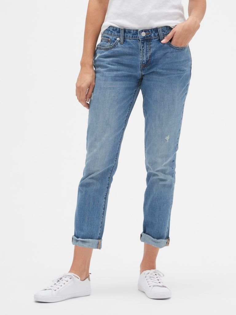 Girlfriend jeans vs boyfriend jeans, boyfriend jeans fit