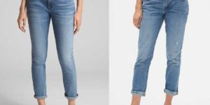 girlfriend jeans vs boyfriend jeans, the difference compared