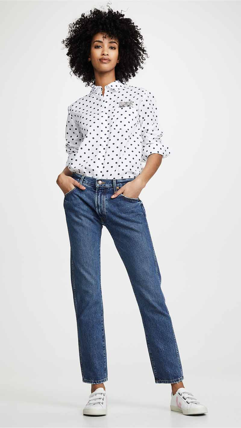 Khaite Kyle Relax Low Rise Jeans. Low rise jeans are coming back