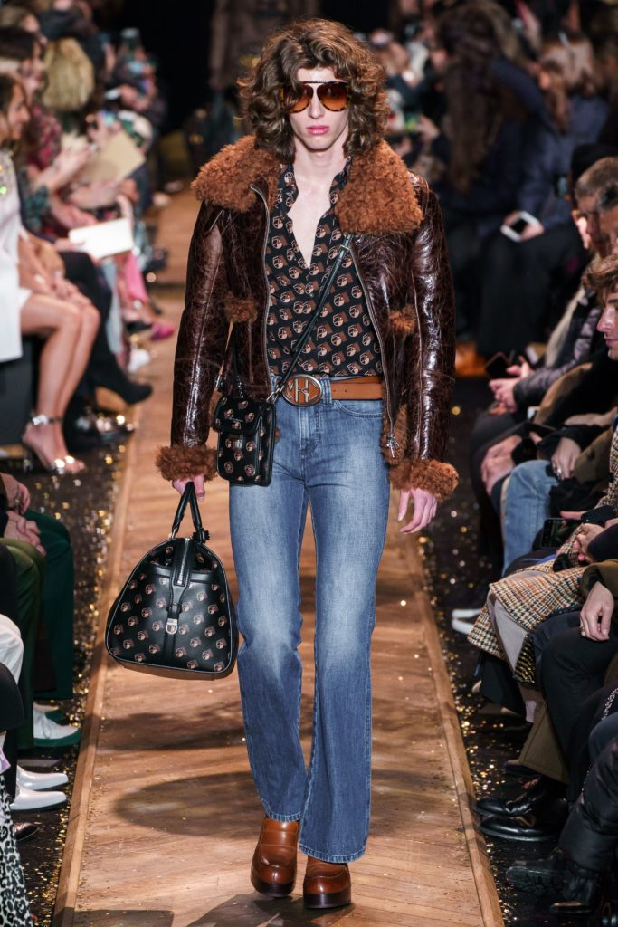 Michael Kors Fall 2019 boot cut jeans, bootcut jeans trend coming back
