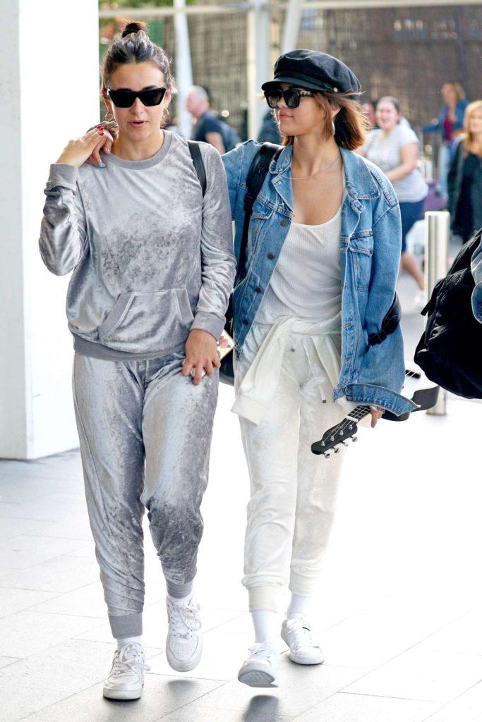 selena gomez jean jacket, celebrity style