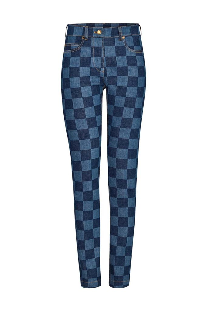 checkerboard jeans, checkered jeans, plaid jeans, checkerboard skinny jeans, check jeans, checked jeans